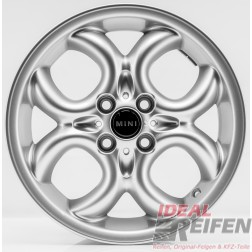 4 Original MINI R56 2005-2010 16 Zoll Felgen 6791942 Circular Spoke