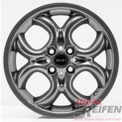 4 Original MINI Cabrio R57 2007-10 16 Zoll Felgen 6791942 Circular Spoke TG