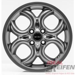 4 Original MINI Cabrio R57 2007-10 16 Zoll Felgen 6791942 Circular Spoke TM