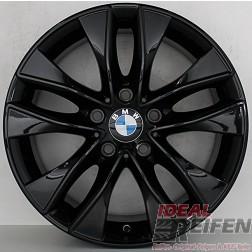 4 Original BMW 1er F20 F21 17 Zoll Alufelgen Styling 412 6850152 7,5x17 ET43 SG