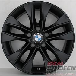 4 Original BMW 1er F20 F21 17 Zoll Alufelgen Styling 412 6850152 7,5x17 ET43 SM