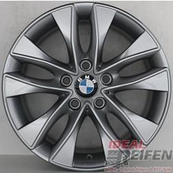 4 Original BMW 1er F20 F21 17 Zoll Alufelgen Styling 412 6850152 7,5x17 ET43 TM