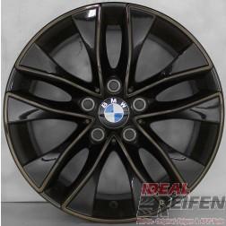 4 Original BMW 1er F20 F21 17 Zoll Felgen Styling 412 6850152 7,5x17ET43 Candy
