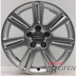 Original Audi A4 8K B8 17 Zoll Alufelge Felge 8K0601025N 7x17 ET46 WIE NEU