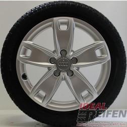 4 Original Audi A3 S3 8P 8P0601025BN 6x17 ET48 Winterräder 2055017 NEXEN NEU