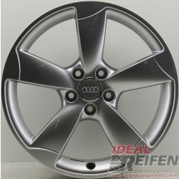 1 Original Audi A3 S3 RS3 8P 18 Zoll Rotor Alufelge 8x18 ET50 8P0601025CT EF551