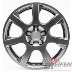4 Original Audi Q5 8R 17 Zoll Alufelgen 8R0601025E 7x17 ET37 OEM Felgen TM