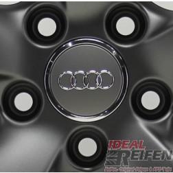 Original Audi Nabendeckel Felgen Radzierkappe schwarz-matt 8T0601170A NEU