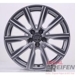 Original Audi A1 S1 8X 17 Zoll Alufelgen 8X0601025AT 7,5x17 ET36 Silber glänzend