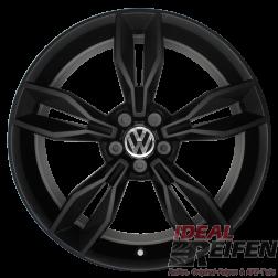 VW Polo 6R 18 Zoll Alufelgen 8X0601025BS 7,5x18 ET37,5 ORIGINAL AUDI SSM