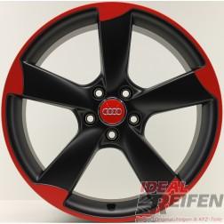 Original Audi A3 S3 8P 19 Zoll Rotor Felgen 8P0601025CP 8P0601025DA SG RED