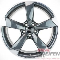 Original Audi A3 S3 8P 19 Zoll Rotor Felgen 8P0601025CP 8P0601025DA TG POL