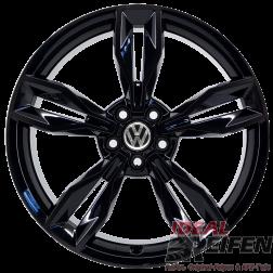 VW Polo 6R 18 Zoll Alufelgen 8X0601025BS 7,5x18 ET37,5 ORIGINAL AUDI SG