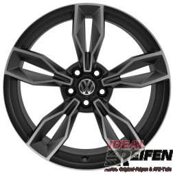 VW Polo 6R 18 Zoll Alufelgen 8X0601025BS 7,5x18 ET37,5 ORIGINAL AUDI SM-POL