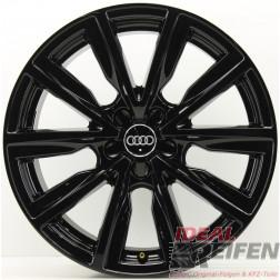 Original Audi A1 S1 8X 17 Zoll Alufelgen 8X0601025C 7,5x17 ET36 Schwarz glänzend