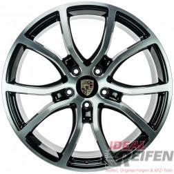 4 Original Porsche Cayenne 9Y E3 21 Zoll Alufelgen 9Y0601025BH 9Y0601025BJ SG-POL