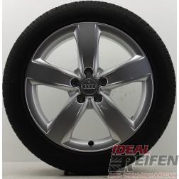 4 Original Audi A6 4G C7 Winterräder 7,5x18 ET37 4G0601025M Dunlop Satz 106