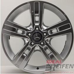 4 Original Mercedes M-Klasse W164 A164 18 Zoll Alufelgen 8x18 ET60 A1644015702 NEU