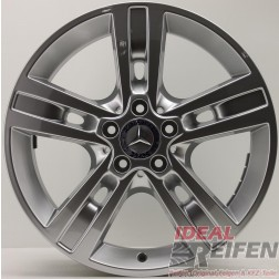 Original Mercedes-Benz M-Klasse 8J x 18 H2 ET60 18 Zoll Alufelge NEU A1644015702