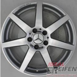 Original Mercedes C-Klasse AMG W204 A2044019902 8,5x18 ET54 WIE NEU