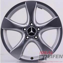 4 Original Mercedes A & B-Klasse 17 Zoll Alufelgen 7,5x17 ET52,5 A2464010502 Satz