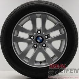 4 Original BMW 3er E90 E91 E92 Styling 156 6775595 16 Zoll Winterräder B64