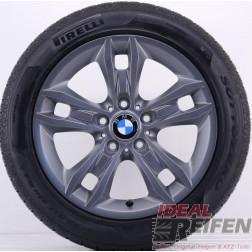 4 Original BMW X1 E84 17 Zoll Winterräder 7,5x17 ET34 225/50 R17 Titan matt NEU