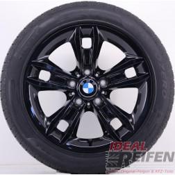 4 Original BMW X1 E84 17 Zoll Winterräder 7,5x17 ET34 225/50 R17 Schwarz glänzend NEU