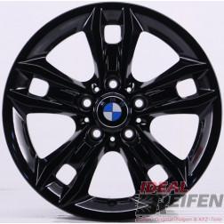 4 Original BMW X1 E84 Styling 319 Felgen 6789142-13 7,5x17 ET34 Schwarz glänzend