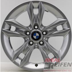 4 Original BMW X1 E84 Styling 319 Felgen 6789142-13 7,5x17 ET34 Silber