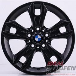 4 Original BMW X1 E84 Styling 319 Felgen 6789142-13 7,5x17 ET34 Schwarz matt