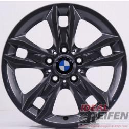4 Original BMW X1 E84 Styling 319 Felgen 6789142-13 7,5x17 ET34 Titan glänzend