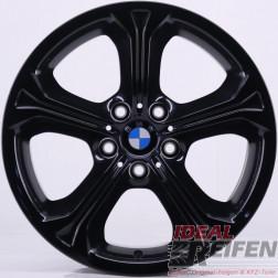 4 Original BMW X1 E84 Styling 320 Felgen 6789143 8x18 ET30 Schwarz glänzend