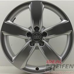 1 Original Audi A6 4G C7 18 Zoll Alufelge 4G0601025M 7,5x18 ET37 S-Line EF4614