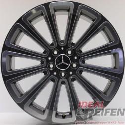Original Mercedes GLK AMG W204 20 Zoll Alufelge A2044010504 9x20 ET54 EF1161