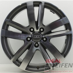 Original Audi Q7 4L 20 Zoll Einzelfelge 4L0601025AJ Facelift 9x20 ET60 NEU EF353