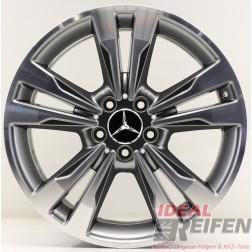 Original Mercedes AMG E-Klasse W212 18 Zoll Alufelge A2124015702 8,5x18 ET48 /1