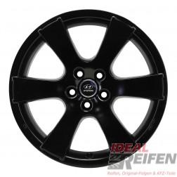 4 Hyundai ix55 19 Zoll Alufelgen 8x19 ET38 Felgen in schwarz seidenmatt