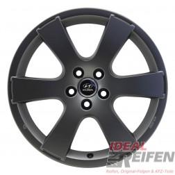 4 Hyundai i30 ab 2007 19 Zoll Alufelgen 8x19 ET38 Felgen in grau matt