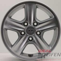 4 Original Hyundai I30 15 Zoll Alufelgen 5,5x15 ET44 52910 2L150 NEU