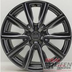 Original Audi A1 8X 17 Zoll Alufelgen 8X0071497A 7,5x17 ET36 Schwarz gl.