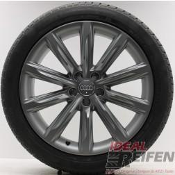 4 Original Audi A7 4G8 4GA Wintersatz 4G8601025K 8x19 ET26 titan matt Reifen NEU