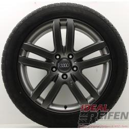 4 Original Audi Q7 4L 20 Zoll Winterräder Wintersatz 4L0601025M 9x20 ET60 TM
