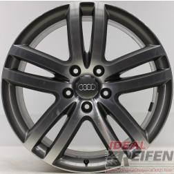 Original Audi Q7 4L 20 Zoll Einzelfelge 4L0601025M 9x20 ET60 bicolor EF25