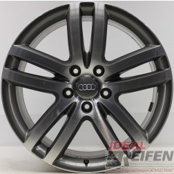 Original Audi Q7 4L 20 Zoll Einzelfelge 4L0601025M 9x20 ET60 bicolor EF23