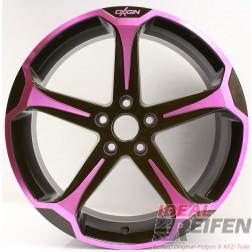Oxigin 13 Panther Alufelge 8,5x19 ET35 5x112 Pink Polish NEU