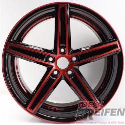 Oxigin 18 Concave Alufelge 8,5x19 ET42 5x114 KBA49243 Red Polish NEU