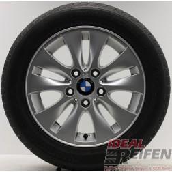 4 Original 1er BMW E81 E82 E87 E88 Winterräder 6,5x16 ET42 6779786 Wintersatz