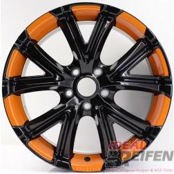 Oxigin 10 Vtwo Alufelge 8x18 ET48 5x114 KBA47974 Orange Folie NEU