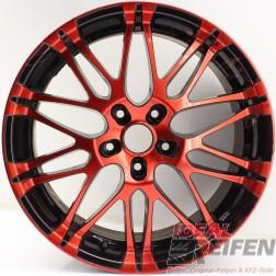 Oxigin 14 Oxrock Alufelge 8,5x19 ET40 5x120 red black rot schwarz /3